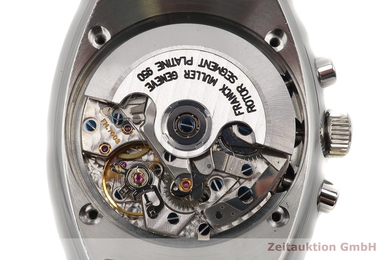 gebrauchte Luxusuhr Franck Muller Transamerica Chronograph Stahl Automatik Kal. FM7003 Ref. 2000 CCATO  | 2102657 _1