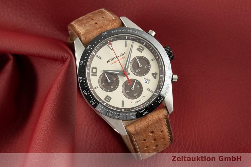 gebrauchte Luxusuhr Montblanc Timewalker Chronograph Keramik / Stahl Automatik Kal. MB2510 Ref. 118491, 7464 LIMITED EDITION | 2102660 _0