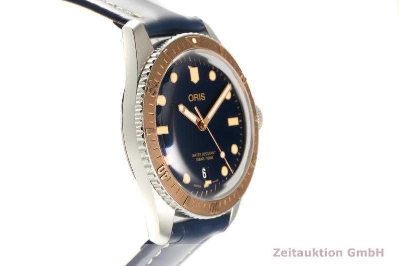 gebrauchte Luxusuhr Oris Divers Sixty-Five Stahl / Bronze Automatik Kal. 733 Ref. 01 733 7707 4355-07 5  | 2102701 _0