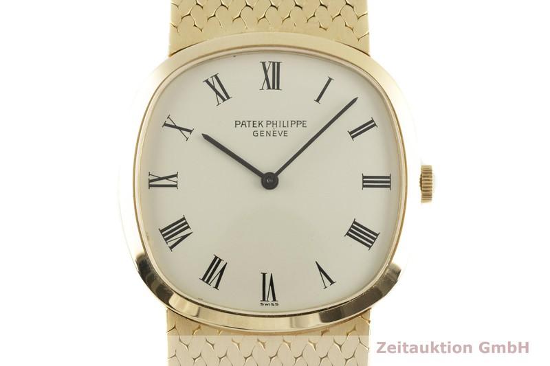 gebrauchte Luxusuhr Patek Philippe Golden Ellipse 18k Gold Handaufzug Kal. 23-300PM Ref. 3544/1 VINTAGE  | 2102735 _0