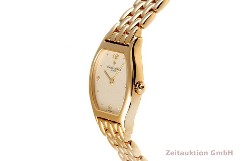 gebrauchte Luxusuhr Vacheron & Constantin Geneve 18k Gold Handaufzug Kal. 1055 Ref. 10150    2102737 _0