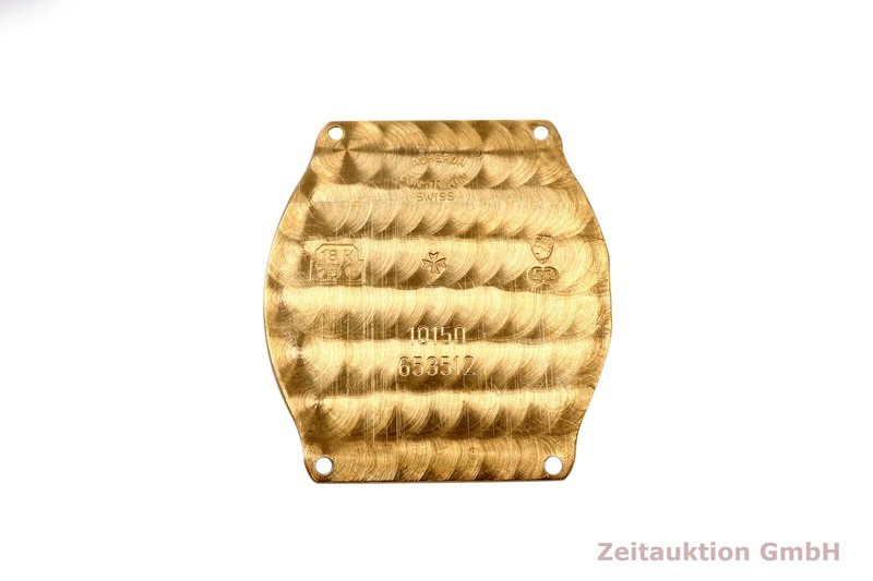 gebrauchte Luxusuhr Vacheron & Constantin Geneve 18k Gold Handaufzug Kal. 1055 Ref. 10150    2102737 _1