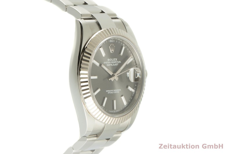 gebrauchte Luxusuhr Rolex Datejust Stahl / Weissgold Automatik Ref. 126334    2102742 _0