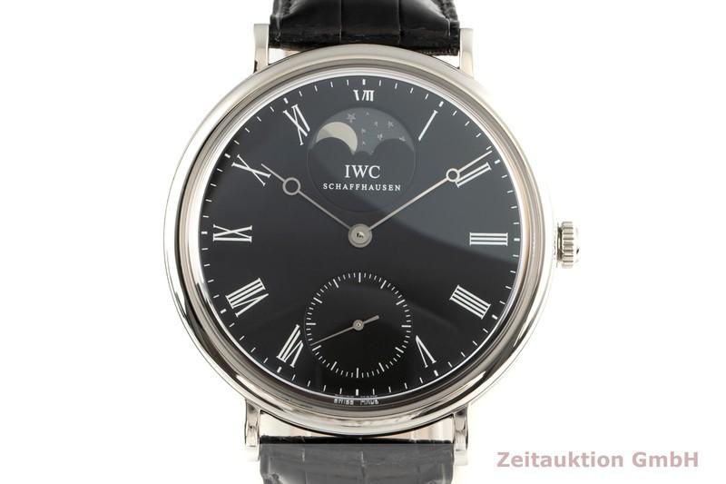 gebrauchte Luxusuhr IWC Portofino Stahl Handaufzug Kal. 98800 Ref. 5448  | 2102743 _0