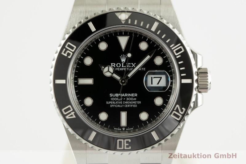 gebrauchte Luxusuhr Rolex Submariner Stahl Automatik Ref. 126610LN    2102745 _0
