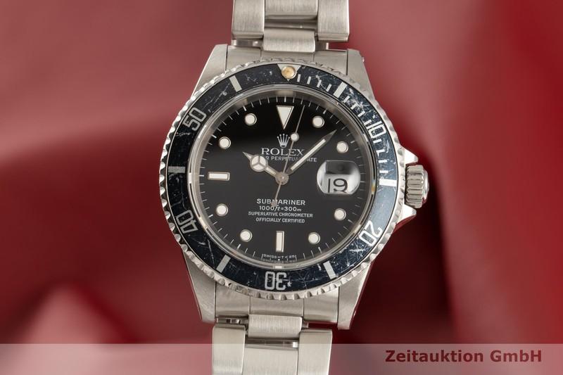 gebrauchte Luxusuhr Rolex Submariner Stahl Automatik Kal. 3135 Ref. 16610    2102748 _0