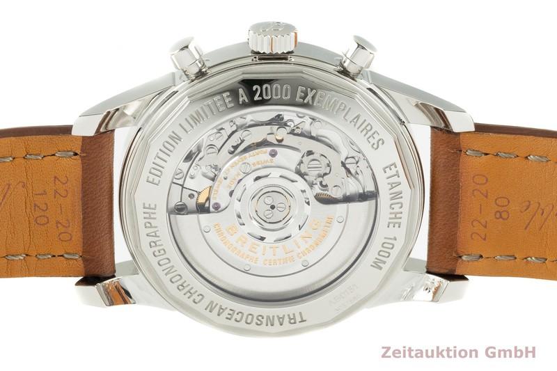 gebrauchte Luxusuhr Breitling Transocean Chronograph Stahl Automatik Kal. B01 Ref. AB0151 LIMITED EDITION   2102776 _1