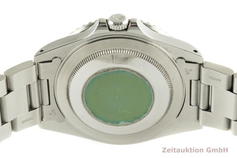 gebrauchte Luxusuhr Rolex GMT Master II Stahl Automatik Kal. 3185 Ref. 16710  | 2102779 _1