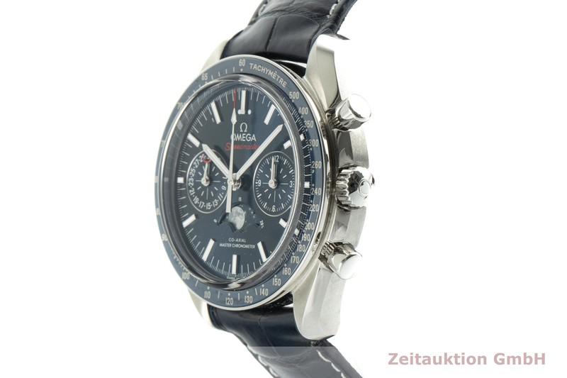 gebrauchte Luxusuhr Omega Speedmaster Moonwatch Chronograph Stahl Automatik Kal. 9904 Ref. 304.33.44.52.03.001  | 2102791 _0