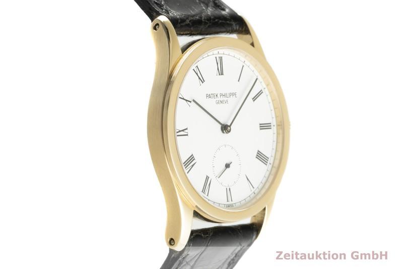 gebrauchte Luxusuhr Patek Philippe Calatrava 18k Gold Handaufzug Kal. 215 Ref. 3796  | 2102801 _0