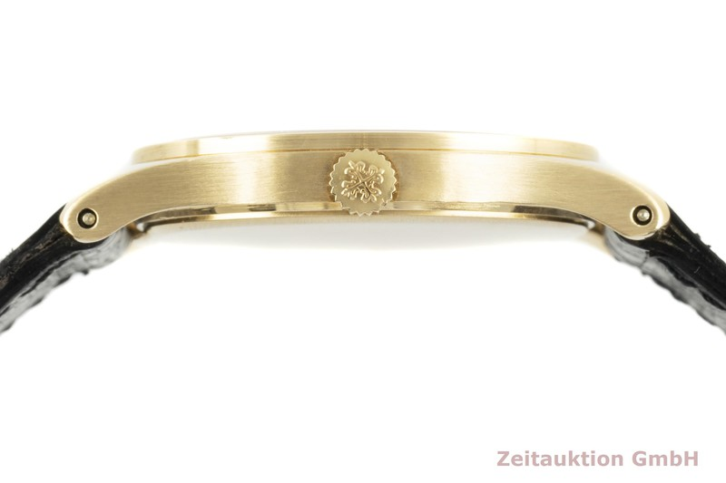 gebrauchte Luxusuhr Patek Philippe Calatrava 18k Gold Handaufzug Kal. 215 Ref. 3796  | 2102801 _1