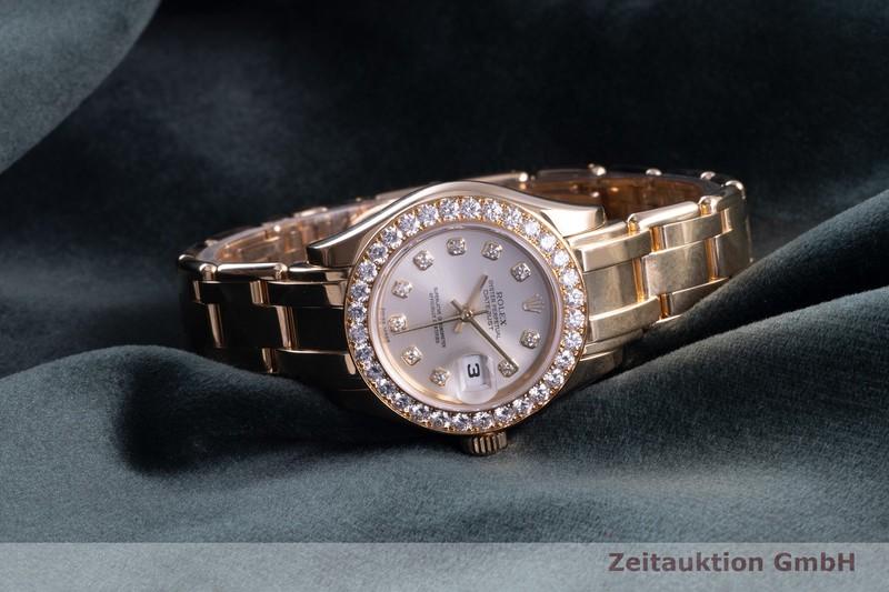 gebrauchte Luxusuhr Rolex Lady Datejust 18k Gold Automatik Kal. 2235 Ref. 80298    2102804 _0
