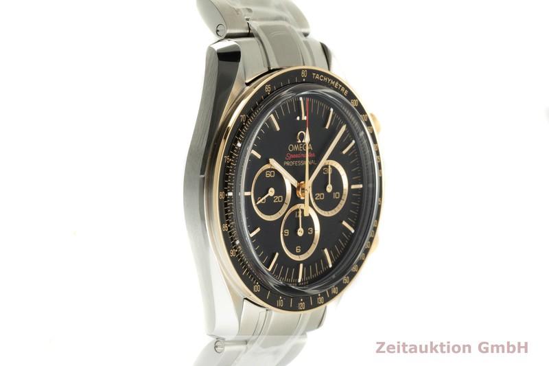 gebrauchte Luxusuhr Omega Speedmaster Chronograph Stahl / Gold Handaufzug Kal. 1861 Ref. 522.20.42.30.01.001 LIMITED EDITION | 2102806 _0