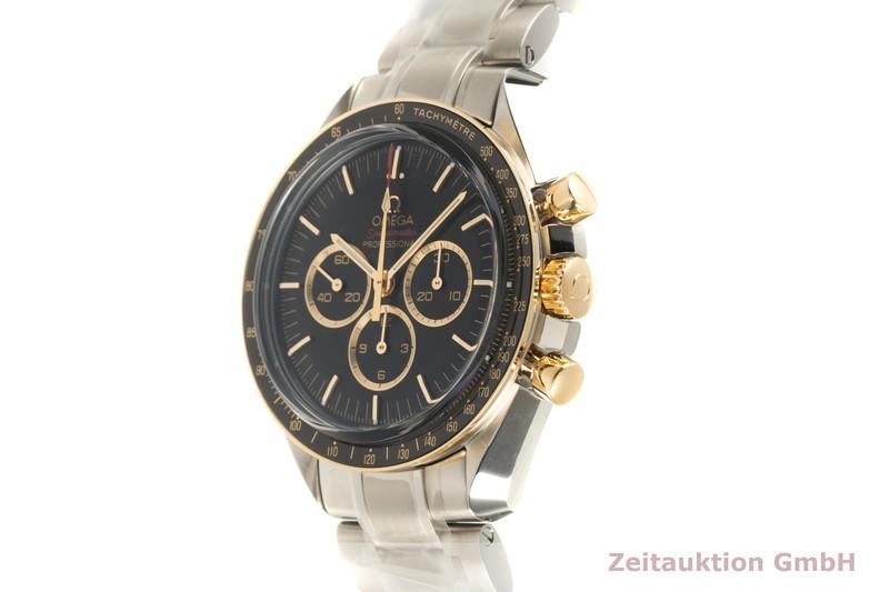 gebrauchte Luxusuhr Omega Speedmaster Chronograph Stahl / Gold Handaufzug Kal. 1861 Ref. 522.20.42.30.01.001 LIMITED EDITION | 2102807 _0