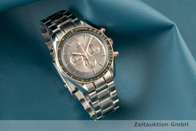gebrauchte Luxusuhr Omega Speedmaster Chronograph Stahl / Gold Handaufzug Kal. 1861 Ref. 522.20.42.30.06.001 LIMITED EDITION | 2102809 _0