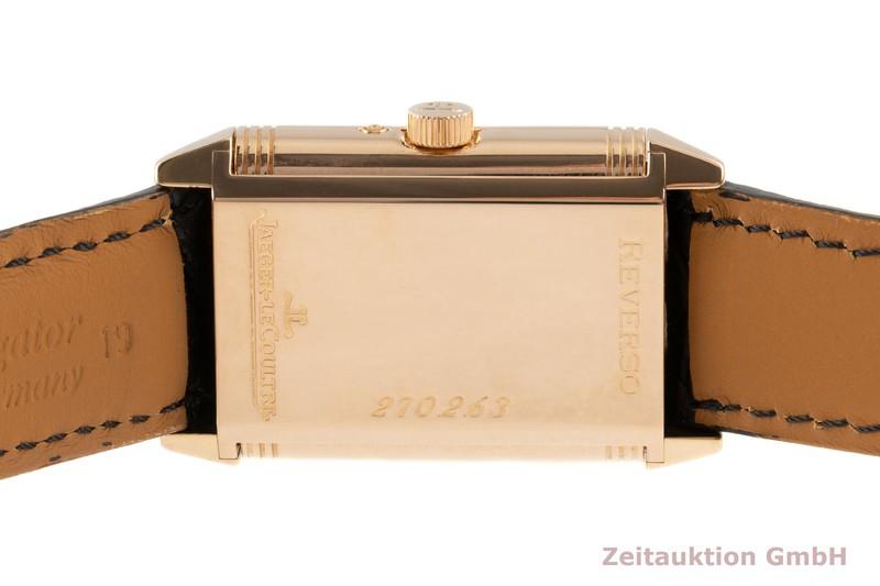 gebrauchte Luxusuhr Jaeger LeCoultre Reverso 18k Rotgold Handaufzug Kal. 823 Ref. 270.2.63  | 2102813 _1