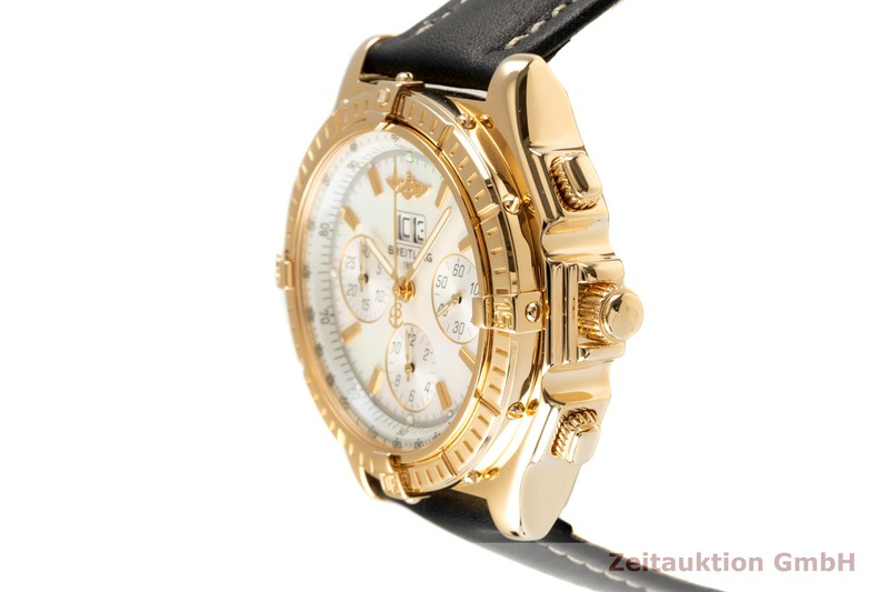 gebrauchte Luxusuhr Breitling Crosswind Chronograph 18k Gold Automatik Kal. B44 Ref. K44355  | 2102814 _0