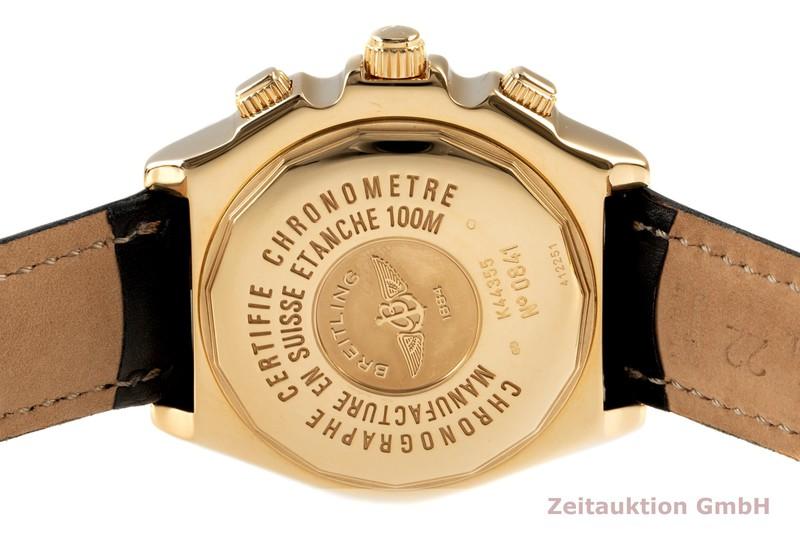 gebrauchte Luxusuhr Breitling Crosswind Chronograph 18k Gold Automatik Kal. B44 Ref. K44355  | 2102814 _1