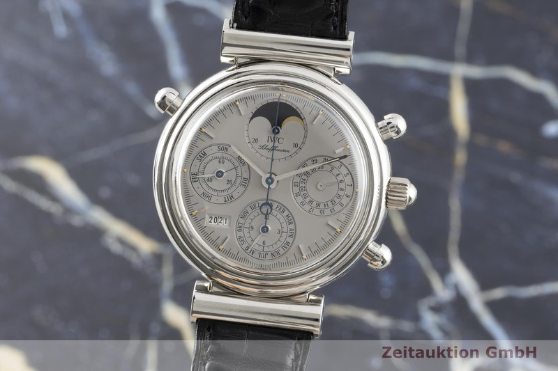 gebrauchte Luxusuhr IWC Da Vinci Chronograph Platin Automatik Kal. C.79251 Ref. 3751 LIMITED EDITION | 2102819 _0