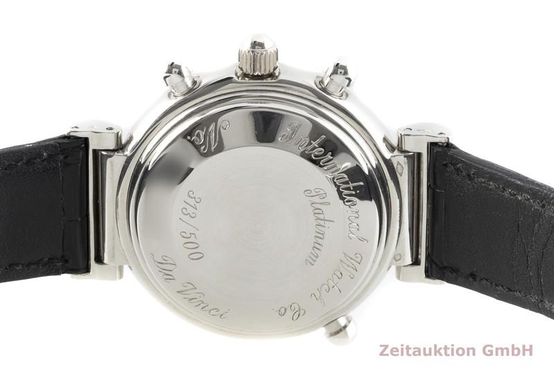 gebrauchte Luxusuhr IWC Da Vinci Chronograph Platin Automatik Kal. C.79251 Ref. 3751 LIMITED EDITION | 2102819 _1