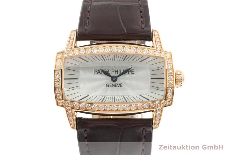 gebrauchte Luxusuhr Patek Philippe Gondolo 18k Gold Quarz Kal. E15 Ref. 4981R-001  | 2102822 _0
