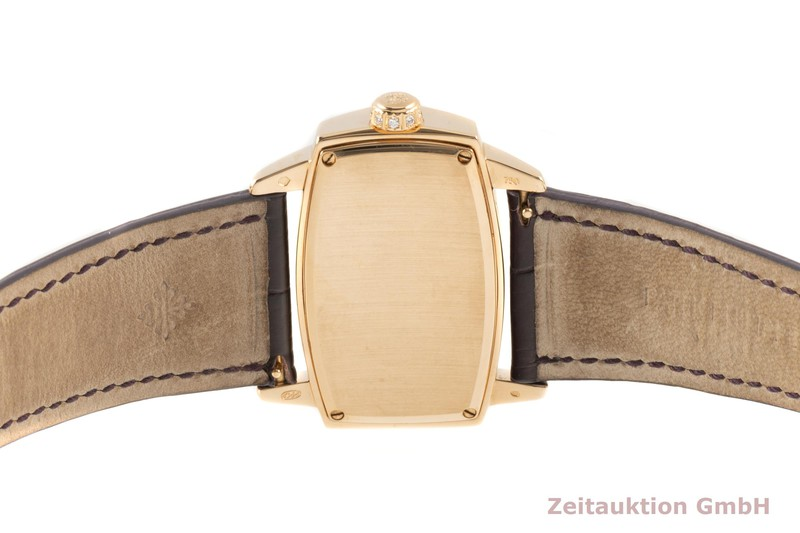 gebrauchte Luxusuhr Patek Philippe Gondolo 18k Gold Quarz Kal. E15 Ref. 4981R-001  | 2102822 _1