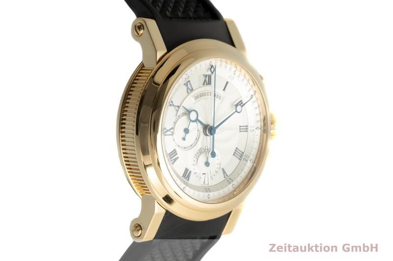 gebrauchte Luxusuhr Breguet Marine Chronograph 18k Gold Automatik Kal. 583Q/1 Ref. 5827BA/1215zU  | 2102825 _0