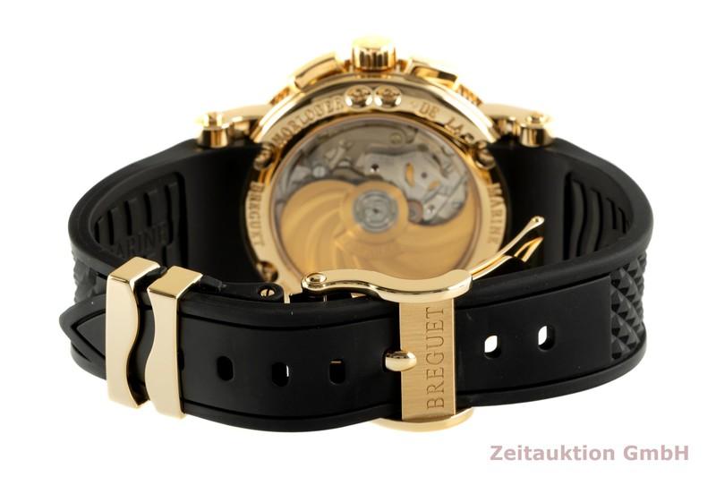 gebrauchte Luxusuhr Breguet Marine Chronograph 18k Gold Automatik Kal. 583Q/1 Ref. 5827BA/1215zU  | 2102825 _1