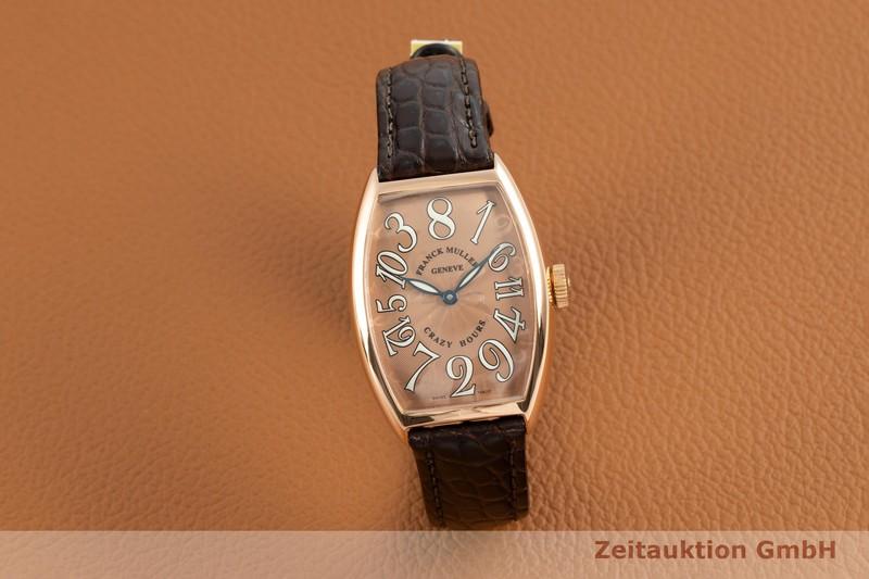 gebrauchte Luxusuhr Franck Muller Crazy Hours 18k Rotgold Automatik Kal. 2800V Ref. 5850CH    2102828 _0
