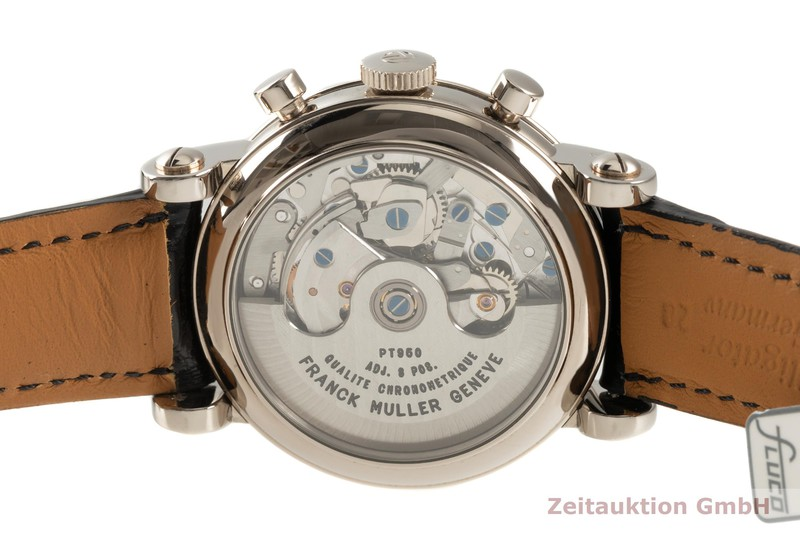 gebrauchte Luxusuhr Franck Muller * Chronograph 18k Weissgold Automatik Kal. FM.7000 Ref. 7000CC  | 2102829 _1