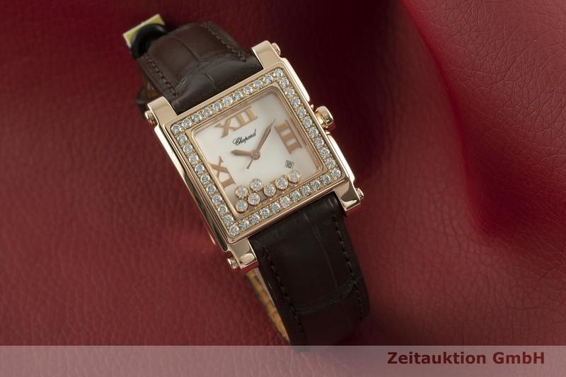 gebrauchte Luxusuhr Chopard Happy Sport 18k Rotgold Quarz Ref. 275321, 5321  | 2102832 _0
