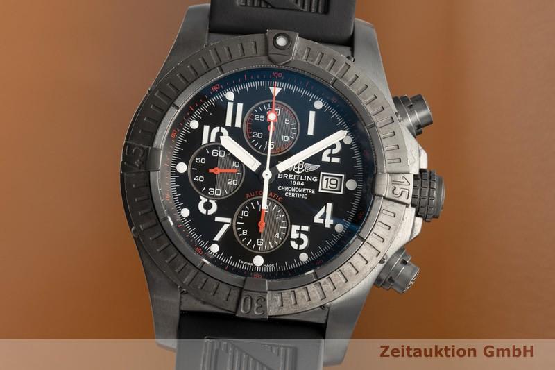 gebrauchte Luxusuhr Breitling Super Avenger Chronograph Stahl Automatik Kal. B13 Ref. M13370 LIMITED EDITION   2102841 _0