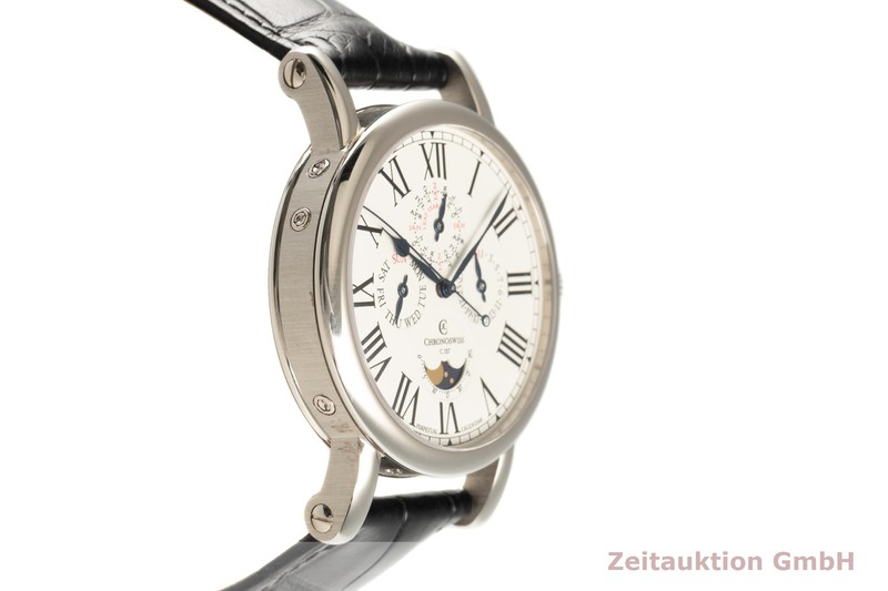 gebrauchte Luxusuhr Chronoswiss Perpetual Calendar 18k Weissgold Automatik Kal. 127 Ref. CH1721  | 2102842 _0