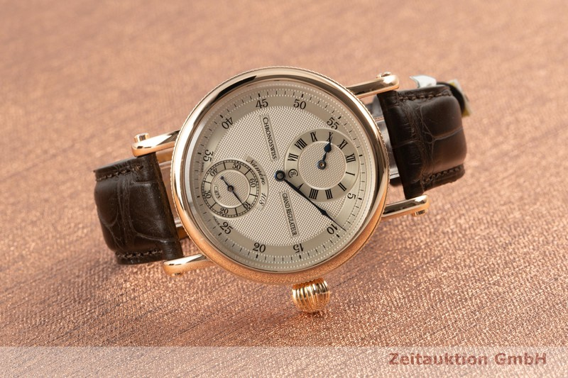 gebrauchte Luxusuhr Chronoswiss Grand Regulateur 18k Rotgold Handaufzug Kal. 673 Ref. CH6721R    2102843 _0