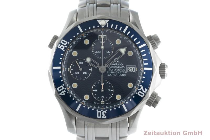 gebrauchte Luxusuhr Omega Seamaster Chronograph Titan Automatik Kal. 1154 Ref. 2298.80.00  | 2102871 _0