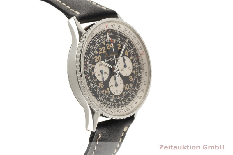 gebrauchte Luxusuhr Breitling Navitimer Cosmonaute Chronograph Stahl Handaufzug Kal. LWO 1873/24 Ref. A12022 LIMITED EDITION | 2102877 _0