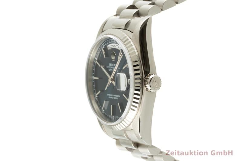 gebrauchte Luxusuhr Rolex Day-Date 18k Weissgold Automatik Kal. 3155 Ref. 18239  | 2102882 _0