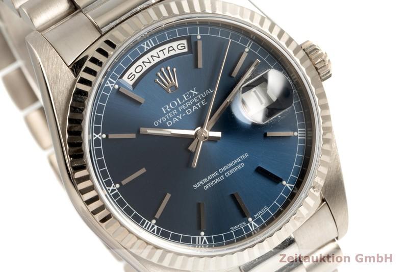 gebrauchte Luxusuhr Rolex Day-Date 18k Weissgold Automatik Kal. 3155 Ref. 18239  | 2102882 _1