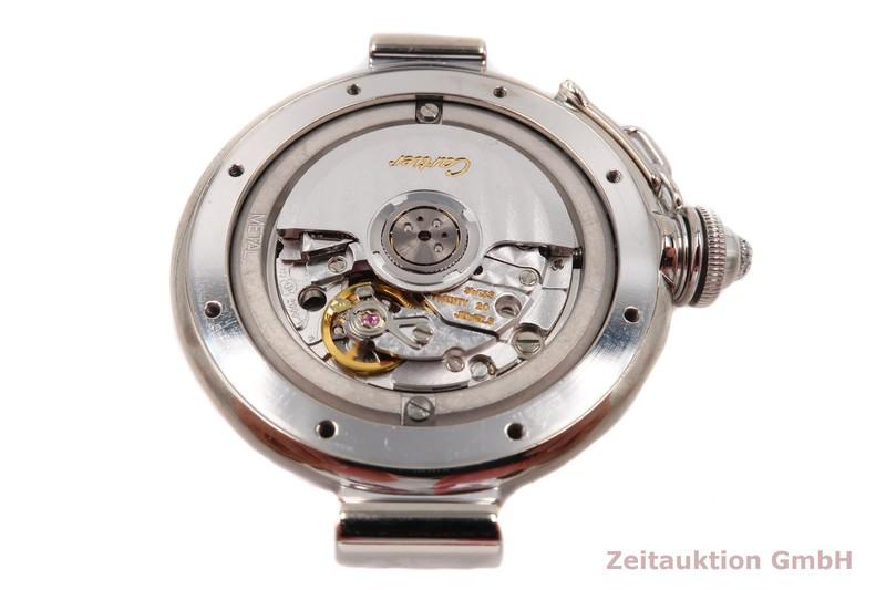 gebrauchte Luxusuhr Cartier Pasha 18k Weissgold Automatik Kal. 120 Ref. 2400  | 2102884 _1