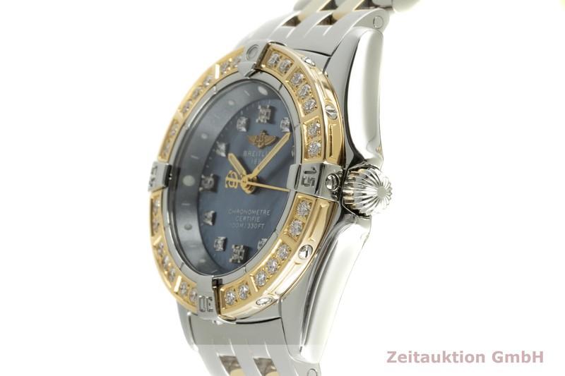 gebrauchte Luxusuhr Breitling Callistino Stahl / Gold Quarz Kal. B72 Ref. D72345    2102885 _0