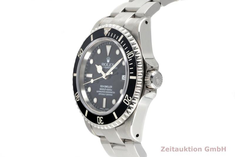 gebrauchte Luxusuhr Rolex Sea Dweller Stahl Automatik Kal. 3135 Ref. 16600  | 2102893 _0