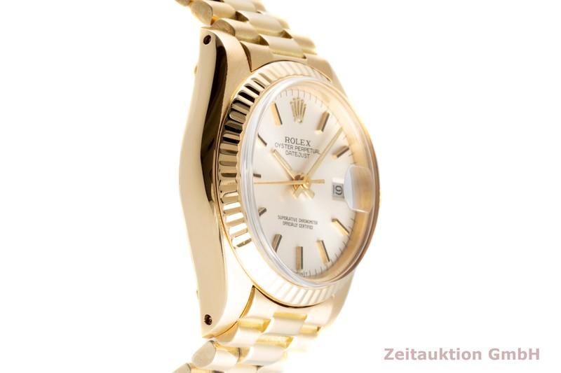 gebrauchte Luxusuhr Rolex Lady Datejust 18k Gold Automatik Kal. 2030 Ref. 6917  | 2102894 _0