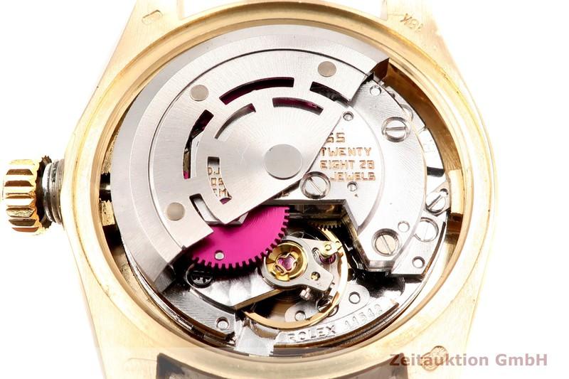 gebrauchte Luxusuhr Rolex Lady Datejust 18k Gold Automatik Kal. 2030 Ref. 6917  | 2102894 _1