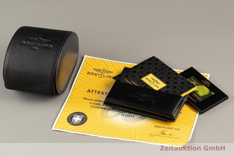gebrauchte Luxusuhr Breitling Transocean Chronograph Stahl Automatik Kal. B05 Ref. AB0510  | 2102948 _0