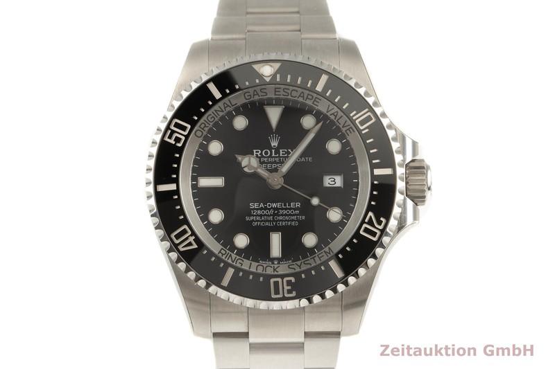 gebrauchte Luxusuhr Rolex Sea Dweller Stahl Automatik Ref. 126660    2102957 _0