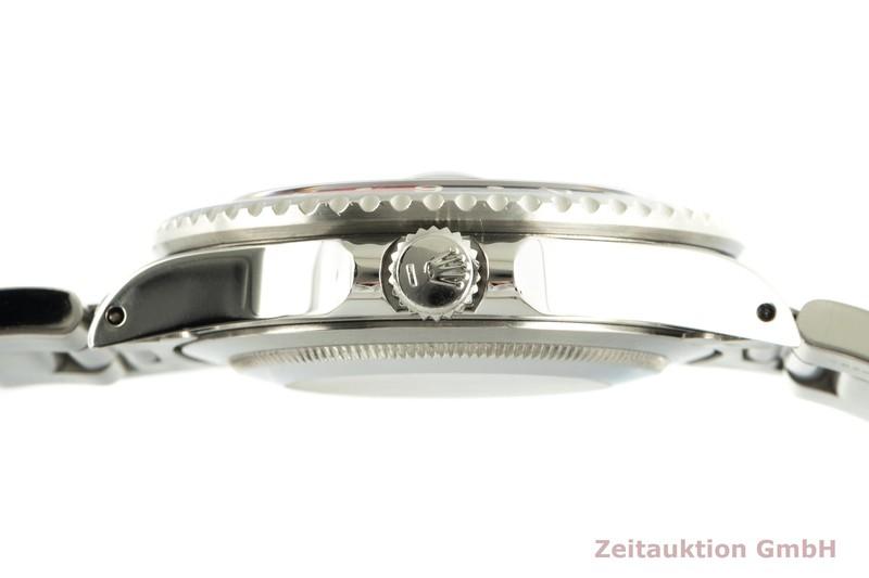 gebrauchte Luxusuhr Rolex GMT Master II Stahl Automatik Kal. 3085 Ref. 16760    2102968 _1