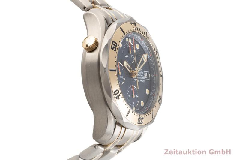 gebrauchte Luxusuhr Omega Seamaster Chronograph Titan / Gold Automatik Kal. 1154 Ref. TL 378.0504, 178.0504    2102970 _0
