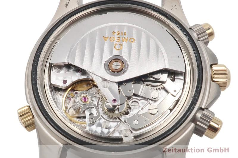 gebrauchte Luxusuhr Omega Seamaster Chronograph Titan / Gold Automatik Kal. 1154 Ref. TL 378.0504, 178.0504    2102970 _1