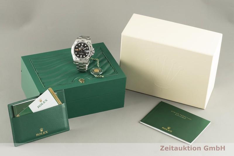 gebrauchte Luxusuhr Rolex Explorer II Stahl Automatik Kal. 3187 Ref. 216570  | 2102972 _0