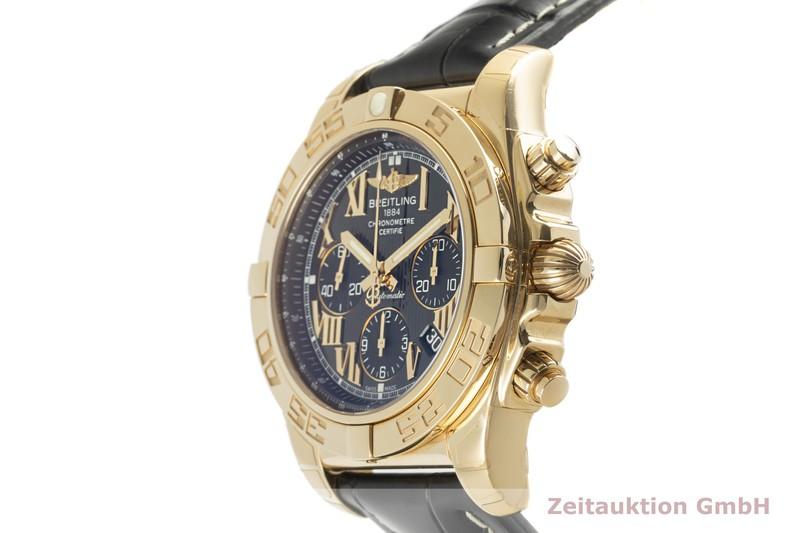 gebrauchte Luxusuhr Breitling Chronomat 44 Chronograph 18k Gold Automatik Kal. B01 Ref. HB0110  | 2102973 _0